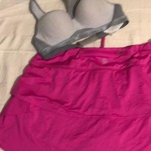 Pink athleta skort